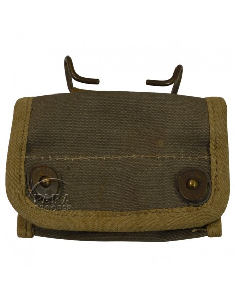 Pouch, canvas, compass