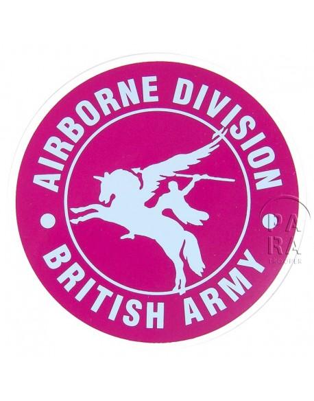 Autocollant Brisith Airborne