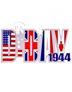Sticker, D-Day 1944