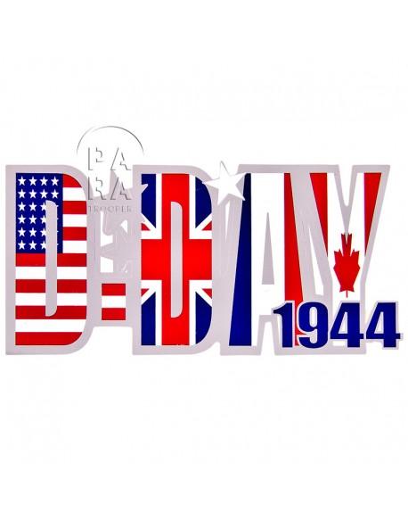 Autocollant D-Day 1944