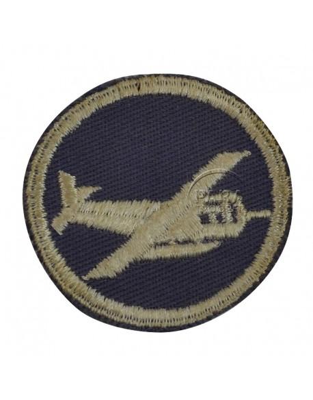 Patch, Cap, Glider infantry, for officier