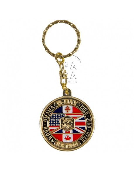 Key chain, 101st (Screaming Eagle)