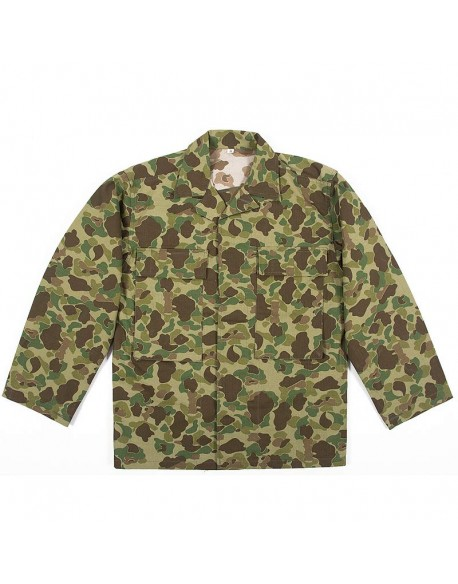 Jacket, HBT, US Army, camouflaged