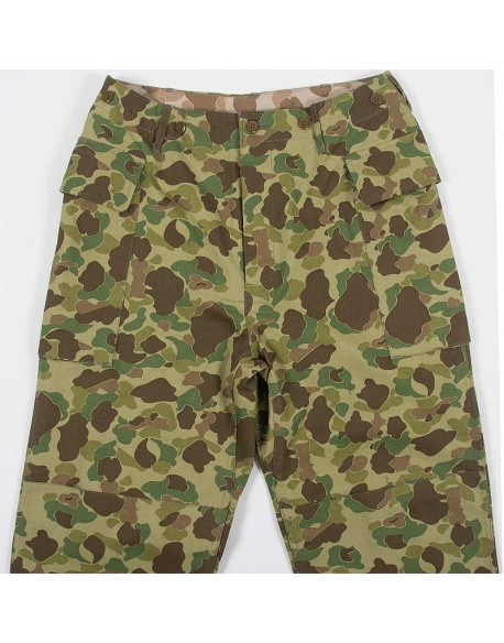 Trousers, HBT, Camouflaged, US Army