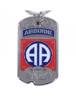 Tag, Identity, D-Day, 82nd Airborne Div.