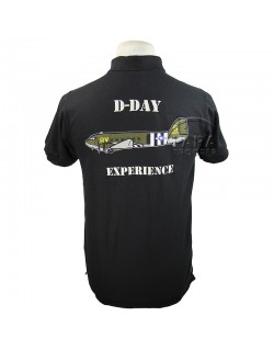 Polo, black, D-Day Experience, Carentan
