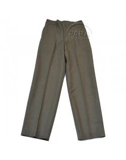 Pantalon en laine moutarde, 32 x 33, 1943