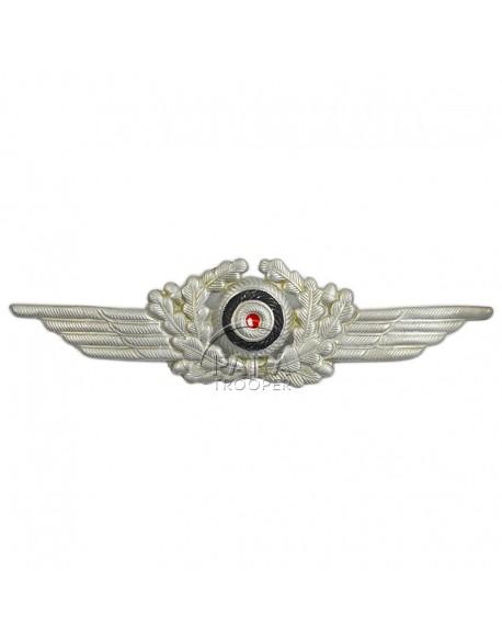 Insigne de casquette Luftwaffe métal