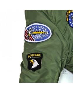 Jacket, Bomber, Child, US