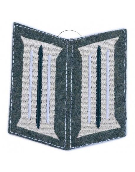 Pattes de col infanterie, M-1940