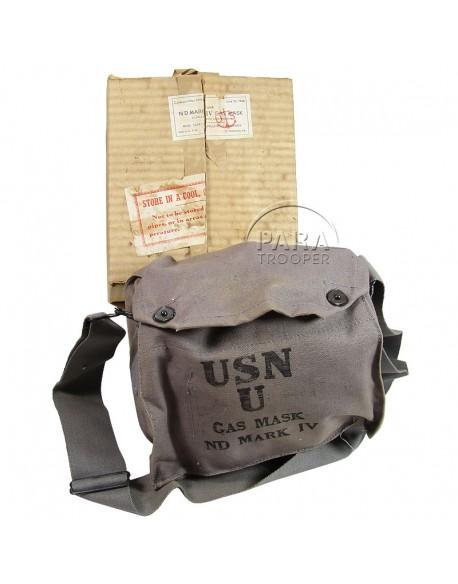 Gas mask, US Navy, Mark IV