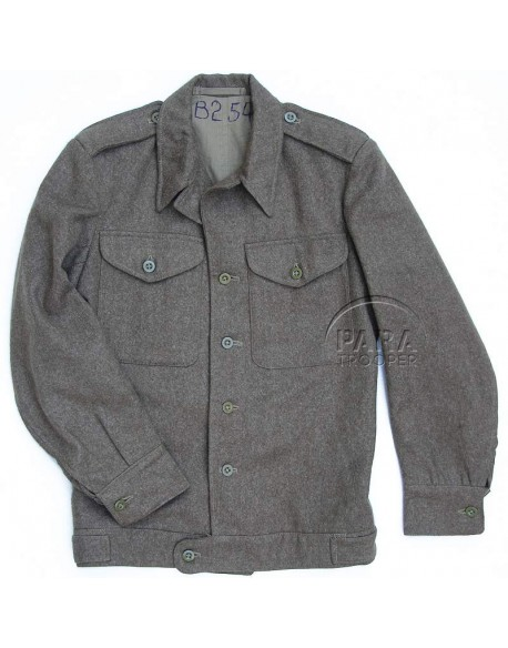 Jacket, field, ETO, enlisted men, 1943, British Made, (First Pattern)