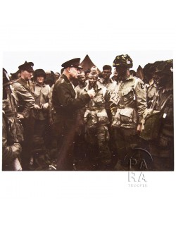 Carte postale Eisenhower, 101e Airborne Division