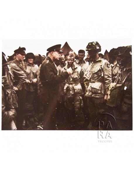 Postcard, Eisenhower, 101st Airborne Division