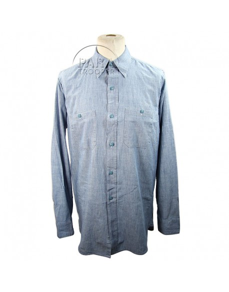 Chemise chambray USN, USA Import