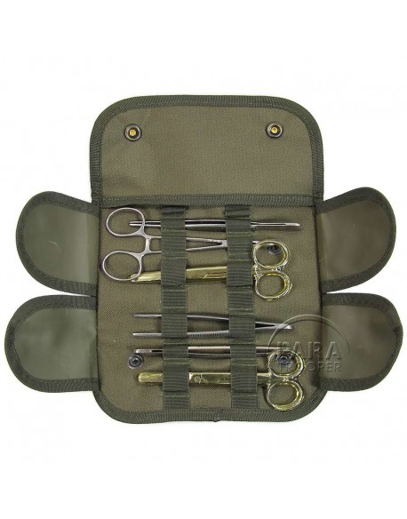 Kit medical, trousse de chirurgie - 6 ustensiles