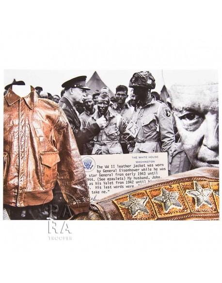 Postcard, Eisenhower