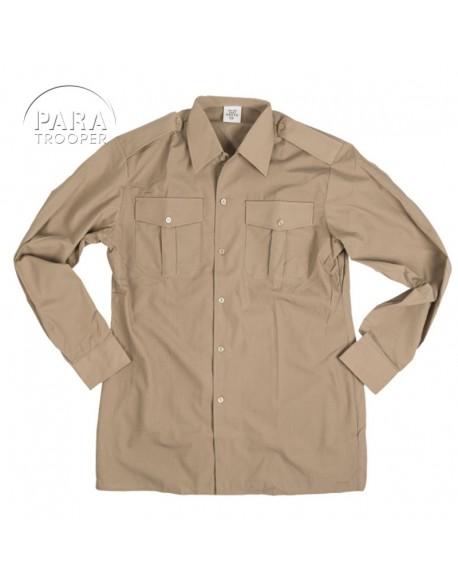 Chemise beige pour WAC / Nurse