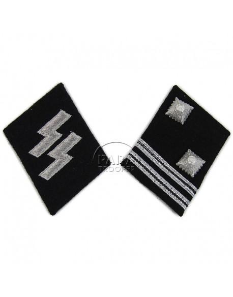 Coins de col Waffen SS, Sturmscharfürer