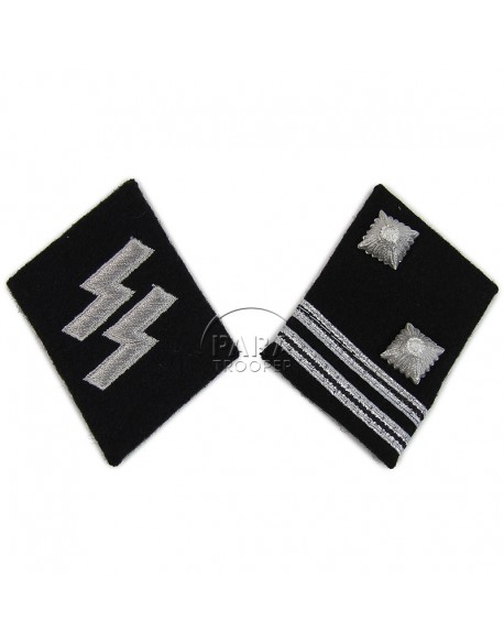 Collar tabs, Waffen SS, Sturmscharfürer