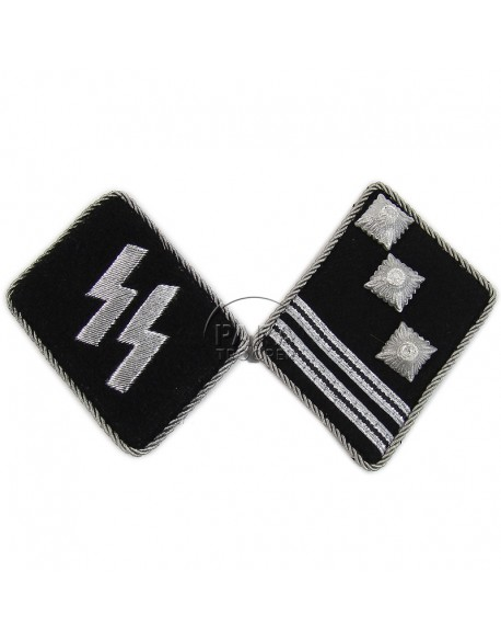 Coins de col Waffen SS, Hauptsturmfürer