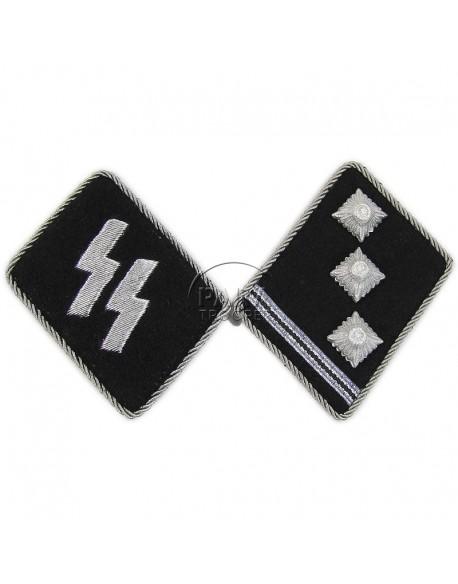 Collar tabs, Waffen SS, Obersturmführer