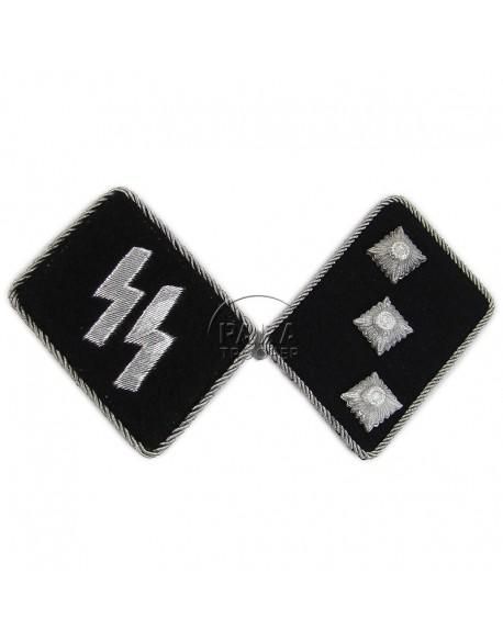 Collar tabs, Waffen SS, Untersturmführer