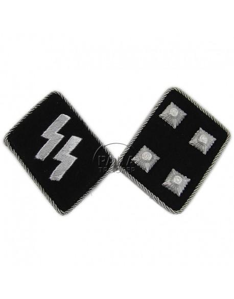 Collar tabs, Waffen SS, Sturmbannführer