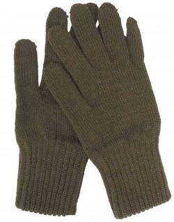 Gloves, Wool, OD