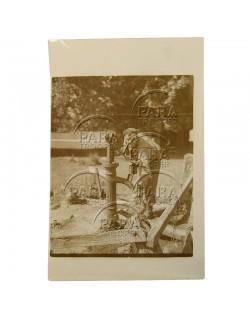 Photo, identifiée, Carentan, 1944