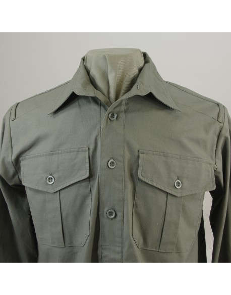 Shirt, Cotton/Linen Woven, Heer/Elite M43