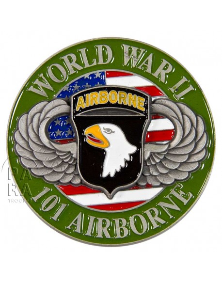 Coin, 3D, 101st Airborne Division