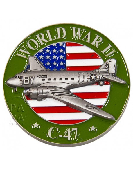 Pièce, 3D, C-47