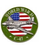 Coin, 3D, C-47