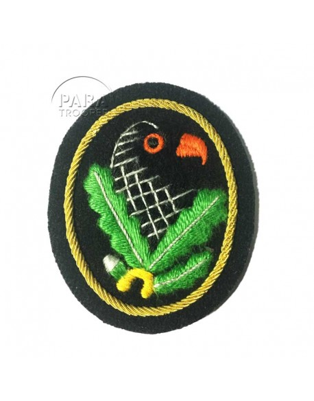 Badge, sniper, cloth, 1st class