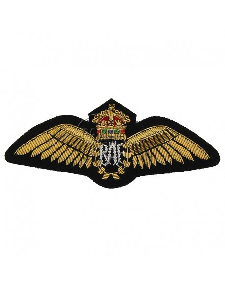 Brevet cannetille de pilote de la Royal Air Force