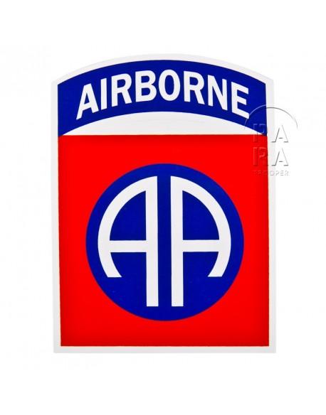 Autocollant 82ème airborne