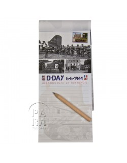 Note Pad, magnet, D-Day