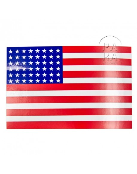 Sticker, 48 stars US flag