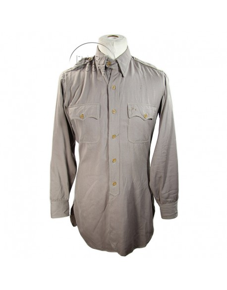 Shirt, Wool elastique, Drab, Officer's, Pink