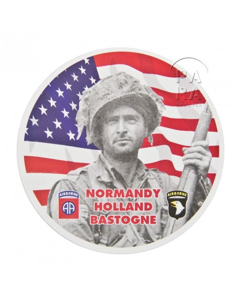 Sticker, ETO - 82nd and 101st airborne