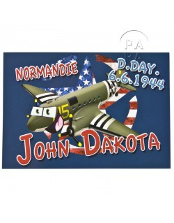 Postcard, John Dakota