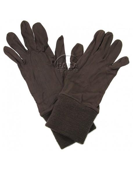 Insert, gloves, rayon, USAAF