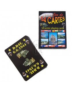 Playing cards, 54, Landing