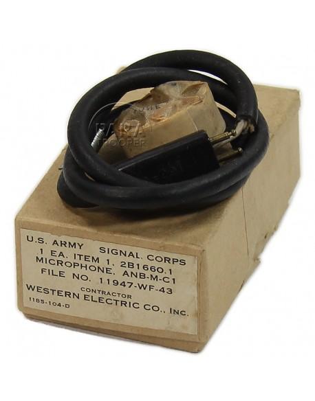 Microphone, ANB-M-C1, 1943