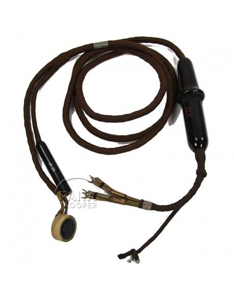 Microphone, MC-253-A + rallonge, 8th AAF