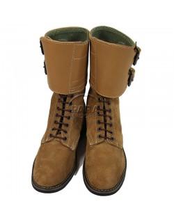 Brodequins à jambières, buckle boots, femme