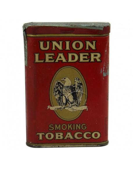 Boite de tabac américain Union Leader, 1942