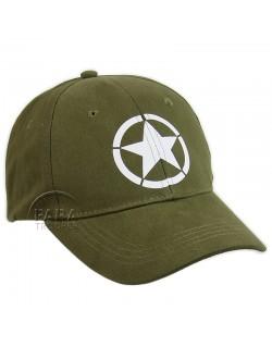 Cap, Baseball, Vintage US Army