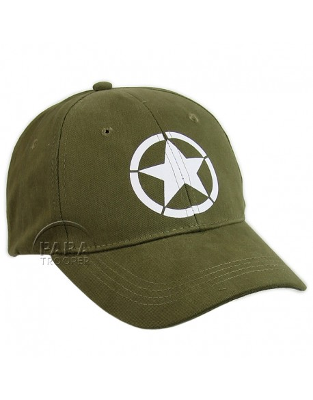 Casquette vintage US Army, OD